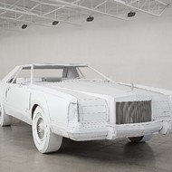 A chat with an artist who built a life-size cardboard version of a 1979 Lincoln Continental Mark V