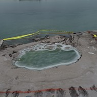 Detroit activists unveil ordinance to protect Detroit River from another collapse