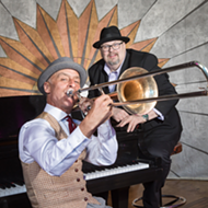 John 'Tbone' Paxton and RJ Spangler release album of pre-WWII standards at Cliff Bell's in Detroit