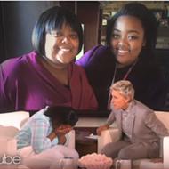 VIDEO: Ellen gives Flint college student a new ride