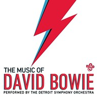 The DSO is performing the music of David Bowie