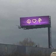 Detroit billboards remember Prince