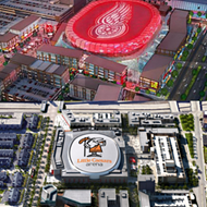Red Wings fans miffed over nixed LED arena roof