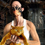Detroit designer creates realistic face-sucking 'Alien' coronavirus mask