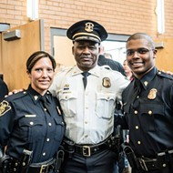 Mother and son sworn in as Flint police