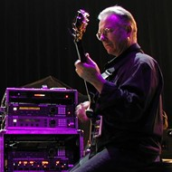 Robert Fripp plays Ste. Anne next month, with his Orchestra of Crafty Guitarists