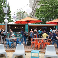 Stick your toes in the sand at this Campus Martius bar
