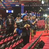 Stephen Colbert hijacks the GOP convention stage with a Hunger Games skit