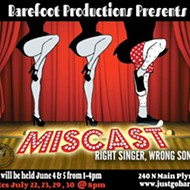 See the right singers perform the 'wrong songs' in Miscast