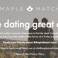 New dating website matches you with Canadians in case Trump is elected President