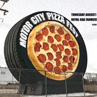 The Motor City Pizza Fest is 'za place to be this week, at the Royal Oak Farmers Market