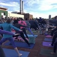 Detroit Yoga Lab hosts rooftop yoga (for a good cause!)