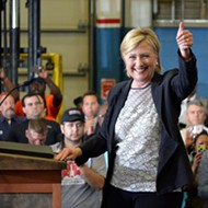 Hillary Clinton lays out economic policy, knocks Trump in Warren visit