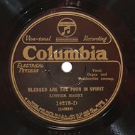 This strange 90 year-old gospel record is pretty amazing