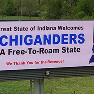 Dumb Indiana billboards shit on Michigan's coronavirus response