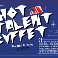 Hot Talent Buffet invades UFO Factory Saturday night