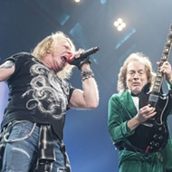 With Axl at the helm, AC/DC brings rock 'n' roll thunder to the Palace