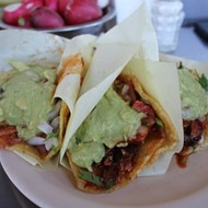 'Voter registration (and taco trucks) on every corner' this Friday in southwest Detroit