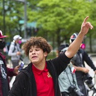 16-year-old protester helped prevent a potentially violent clash between protesters and Detroit cops