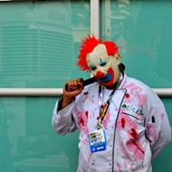 Creepy clown spotted in Clinton Township