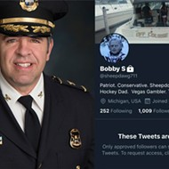 Shelby Township Police Chief Robert Shelide apologizes for being a nasty anonymous Twitter troll