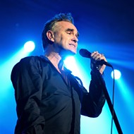Just announced: Morrissey will be here just in time for Thanksgiving