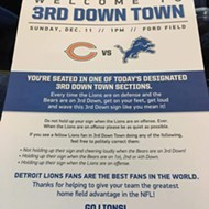 Detroit Lions fans need a little help showing their team spirit