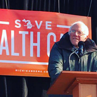 Bernie Sanders visits Macomb County in bid to save health care law