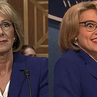 VIDEO: Betsy DeVos got the 'SNL' treatment this weekend and it was glorious