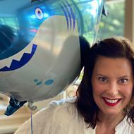 Big Gretch had a Shark Week-themed birthday party