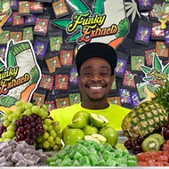 Jujuan Coleman embraces the funk with his cannabis-infused Funky Extracts gummies