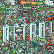 You can get lost in this detailed (but not 100% accurate) map of Detroit