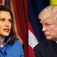 Bombastic Trump calls Whitmer a 'dictator,' falsely claims she's unpopular in Michigan