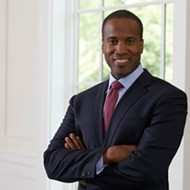 Republican John James says he was called racial slur in Florida