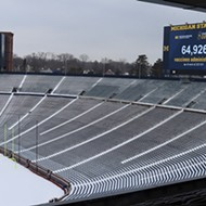 The number of Americans dead from COVID-19 could fill five Michigan Stadiums