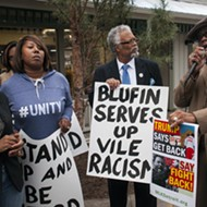 Blufin Sushi protestors voice their anger over alleged racial discrimination