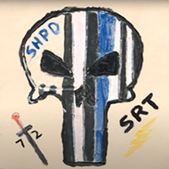 Sterling Heights removes 'Punisher' tile from controversial DIA-sponsored police dept. art project
