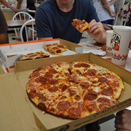 Little Caesars releases plant-based pepperoni topping for pizza that is not at all plant-based