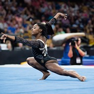 Gold Over America tour delivers Olympians Simone Biles, Morgan Hurd, and others to Detroit's Little Caesars Arena