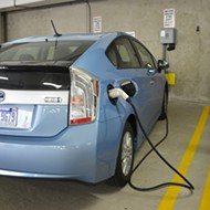 Electric-vehicle owners urged to charge overnight at home