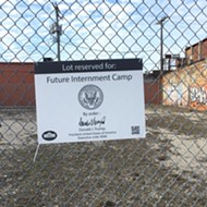 "Trump's America: Eastern Market plot ""reserved for future internment camp"""