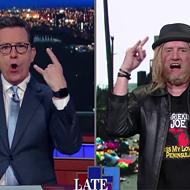 Stephen Colbert dragged Kid Rock through the coals during hilarious segment