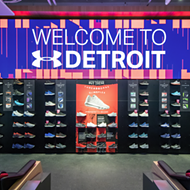 The new Under Armour store opens tomorrow in downtown Detroit