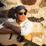 Don't miss 'Bad Ass and Blind' guitarist Raul Midon at Jazz Cafe Friday, April 14