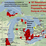Canadian government delays approval of nuclear waste dump on Lake Huron