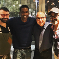 Chris Rock dined at Parc this weekend and we're jealous we missed it