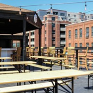 Atwater's Rivertown rooftop biergarten opens today