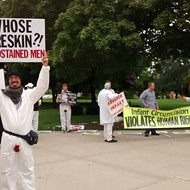 Anti-circumcision protestors demand genital mutilation protections for boys