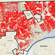 Here is a horrifying map that shows every Detroit tax foreclosure since 2002