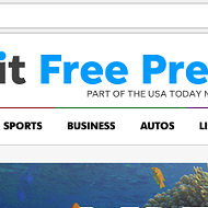 'Detroit Free Press' changed its online font and we don't know how to feel about it